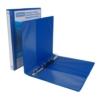 Kép 1/8 - Gyűrűs könyv, panorámás, 4 gyűrű, D alakú, 37 mm, A4, PP, DONAU, kék