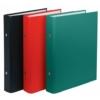 Kép 1/8 - Gyűrűs könyv, 2 gyűrű, 30 mm, A5, PP/karton, DONAU, piros