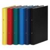 Kép 1/8 - Gyűrűs könyv, 2 gyűrű, 35 mm, A4, PP/karton, DONAU, kék