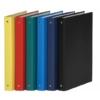 Kép 1/8 - Gyűrűs könyv, 4 gyűrű, 35 mm, A4, PP/karton, DONAU, kék