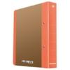 """Kép 1/8 - Gyűrűs könyv, 2 gyűrű, D alakú, 50 mm, A4, karton, DONAU """"Life"""", neon narancssárga"""