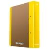 """Kép 1/8 - Gyűrűs könyv, 2 gyűrű, D alakú, 50 mm, A4, karton, DONAU """"Life"""", neon sárga"""