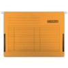 Kép 2/8 - Függőmappa, oldalvédelemmel, karton, A4, DONAU, narancs
