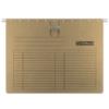 Kép 1/8 - Függőmappa, gyorsfűzős, karton, A4, DONAU, barna
