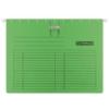 Kép 1/8 - Függőmappa, gyorsfűzős, karton, A4, DONAU, zöld