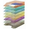 Kép 1/8 - Irattálca, műanyag, DONAU, áttetsző füstszínű