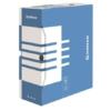 Kép 1/8 - Archiváló doboz, A4, 120 mm, karton, DONAU, kék
