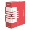 Kép 1/8 - Archiváló doboz, A4, 120 mm, karton, DONAU, piros