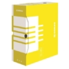 Kép 1/8 - Archiváló doboz, A4, 120 mm, karton, DONAU, sárga