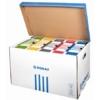 Kép 1/8 - Archiváló konténer, felfelé nyíló, DONAU, kék