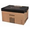 Kép 1/8 - Archiváló konténer, levehető tető, 545x363x317 mm, karton, DONAU