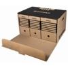 Kép 1/8 - Archiváló konténer, előre nyíló, DONAU, barna