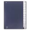 Kép 1/8 - Előrendező, A4, 1-31, karton, DONAU, sötétkék