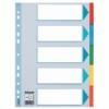 """Kép 1/8 - Regiszter, karton, A4, 5 részes, írható előlappal, ESSELTE """"Standard"""", színes"""