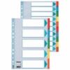 """Kép 2/8 - Regiszter, karton, A4, 5 részes, írható előlappal, ESSELTE """"Standard"""", színes"""