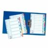 """Kép 3/8 - Regiszter, karton, A4, 5 részes, írható előlappal, ESSELTE """"Standard"""", színes"""