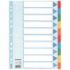 """Kép 1/8 - Regiszter, karton, A4, 10 részes, írható előlappal, ESSELTE """"Standard"""", színes"""