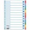 """Kép 1/8 - Regiszter, karton, A4, 12 részes, írható előlappal, ESSELTE """"Standard"""", színes"""
