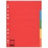 """Kép 1/8 - Regiszter, karton, A4, 5 részes, ESSELTE """"Economy"""", színes"""