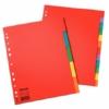 """Kép 2/8 - Regiszter, karton, A4, 5 részes, ESSELTE """"Economy"""", színes"""