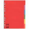"""Kép 1/8 - Regiszter, karton, A4, 6 részes, ESSELTE """"Economy"""", színes"""