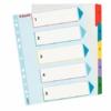 Kép 1/8 - Regiszter, laminált karton, A4 maxi, 1-5, újraírható, ESSELTE