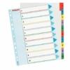 Kép 1/8 - Regiszter, laminált karton, A4 Maxi, 1-10, újraírható, ESSELTE