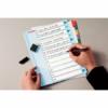 Kép 2/8 - Regiszter, laminált karton, A4 Maxi, 1-10, újraírható, ESSELTE