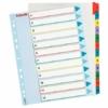 Kép 1/8 - Regiszter, laminált karton, A4 Maxi, 1-12, újraírható, ESSELTE