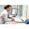 Kép 2/8 - Regiszter, műanyag, A4 Maxi, 1-12, nyomtatható, ESSELTE, áttetsző
