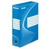 """Kép 1/8 - Archiváló doboz, A4, 100 mm, karton, ESSELTE """"Boxycolor"""", kék"""