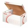 """Kép 1/8 - Archiváló konténer, karton, felfelé nyíló, ESSELTE """"Standard"""", fehér"""