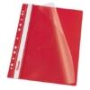 Kép 1/8 - Gyorsfűző, lefűzhető, PP, A4, ESSELTE, VIVIDA, piros