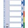 Kép 1/8 - Regiszter, műanyag, A4, 5 részes, ESSELTE