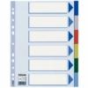 Kép 1/8 - Regiszter, műanyag, A4, 6 részes, ESSELTE