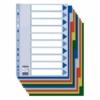 Kép 2/8 - Regiszter, műanyag, A4, 10 részes, ESSELTE