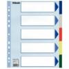 Kép 1/8 - Regiszter, műanyag, A4 Maxi, 5 részes, ESSELTE