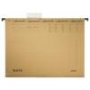 """Kép 1/8 - Függőmappa, karton, A4, LEITZ """"Alpha Standard"""", natúr"""
