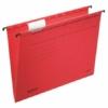"""Kép 1/8 - Függőmappa, karton, A4, LEITZ """"Alpha Standard"""", piros"""