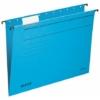 """Kép 2/8 - Függőmappa, karton, A4, LEITZ """"Alpha Standard"""", kék"""