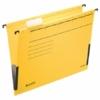 """Kép 2/8 - Függőmappa, oldalvédelemmel, karton, A4, LEITZ """"Alpha"""", sárga"""