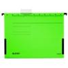 """Kép 1/8 - Függőmappa, oldalvédelemmel, karton, A4, LEITZ """"Alpha"""", zöld"""