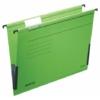 """Kép 2/8 - Függőmappa, oldalvédelemmel, karton, A4, LEITZ """"Alpha"""", zöld"""
