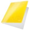"""Kép 2/8 - Gyorsfűző, laminált karton, A4, LEITZ """"Wow"""", sárga"""