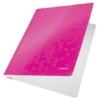 """Kép 2/8 - Gyorsfűző, laminált karton, A4, LEITZ """"Wow"""", rózsaszín"""