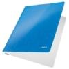 """Kép 2/8 - Gyorsfűző, laminált karton, A4, LEITZ """"Wow"""", kék"""