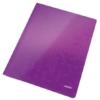 """Kép 1/8 - Gyorsfűző, laminált karton, A4, LEITZ """"Wow"""", lila"""