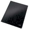 """Kép 1/8 - Gyorsfűző, laminált karton, A4, LEITZ """"Wow"""", fekete"""