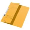 Kép 1/8 - Gyorsfűző, karton, fémszerkezettel, A4 feles, LEITZ, sárga