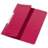 Kép 1/8 - Gyorsfűző, karton, fémszerkezettel, A4 feles, LEITZ, piros